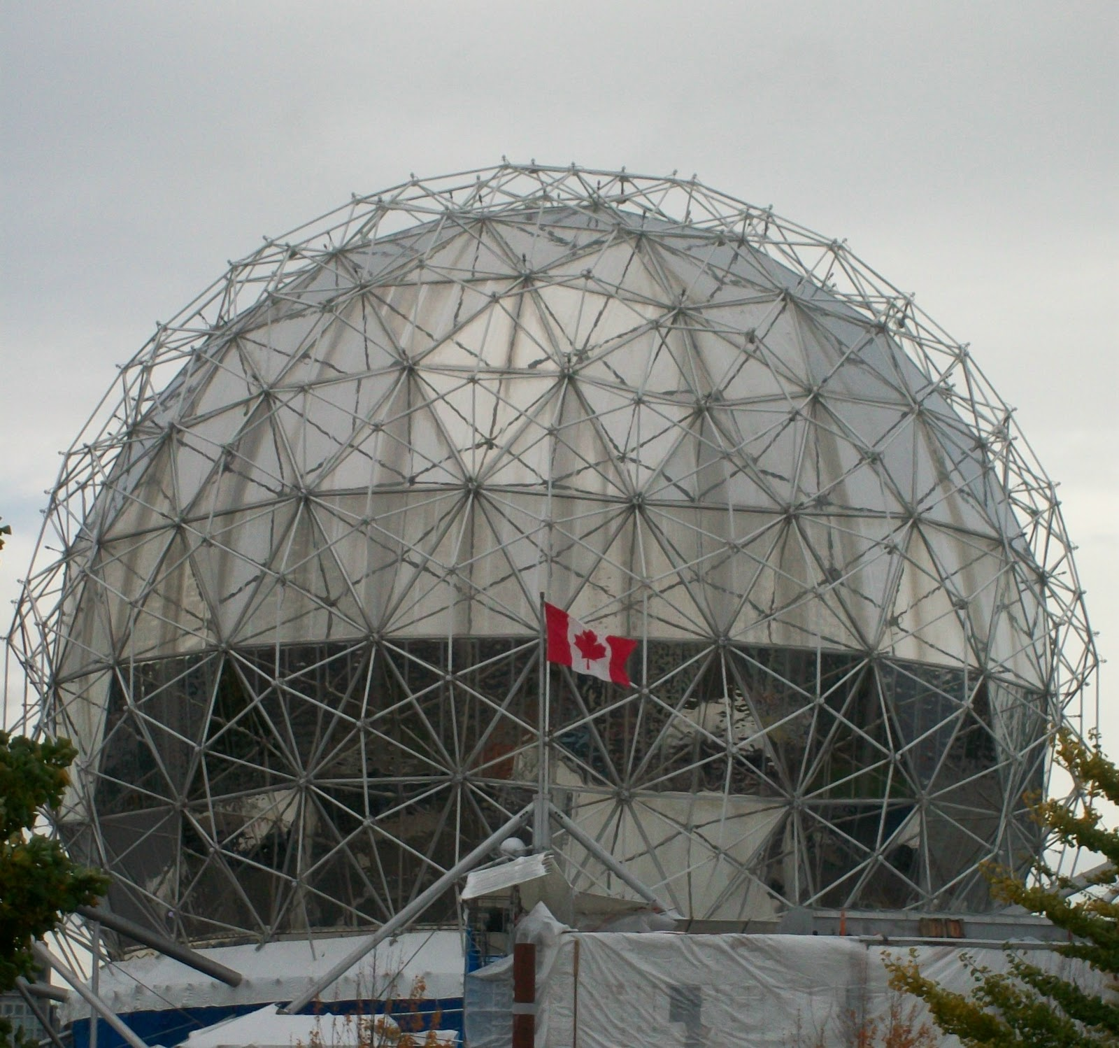 Vancouver voyager delving into the world of science - The geodesic dome in connecticut call of earth ...