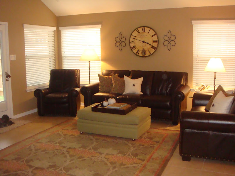 Sherwin-Williams Latte Living Room