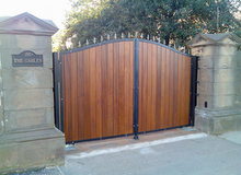 Wood Iron Gates