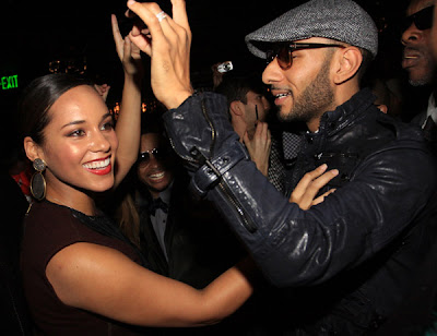 AliciaSwizz Event: GQ Celebrates Swizz Beatz at Trump Soho NYC.