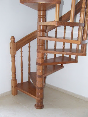 Escaleras de madera escaleras de caracol - Escaleras de caracol de madera ...