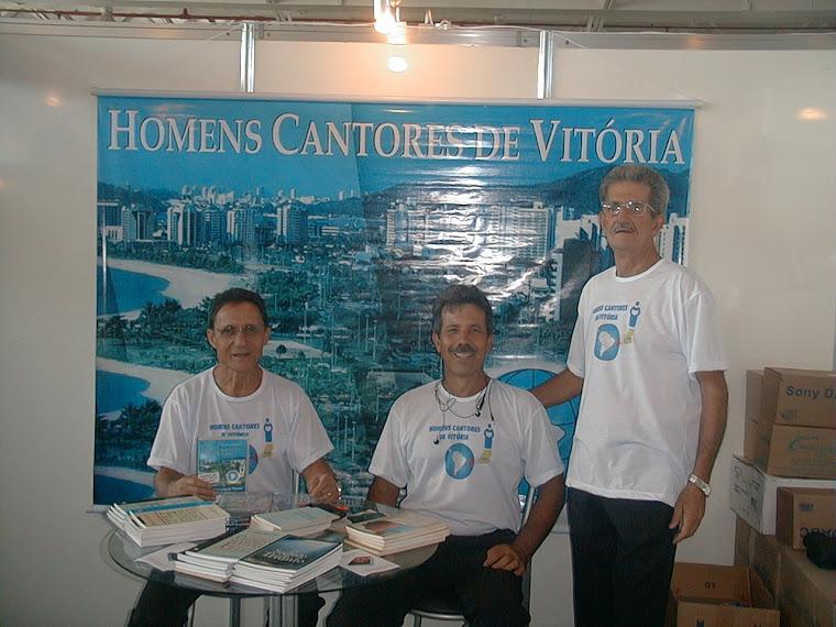 Stand dos HCV no Centro de Conveções