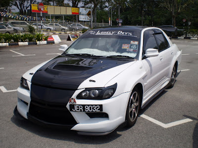 Wira Custom body kit