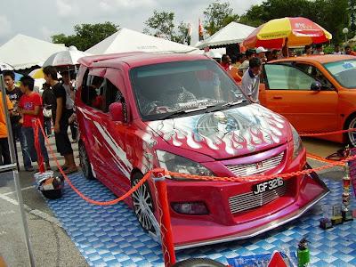 Modified Perodua Kenari