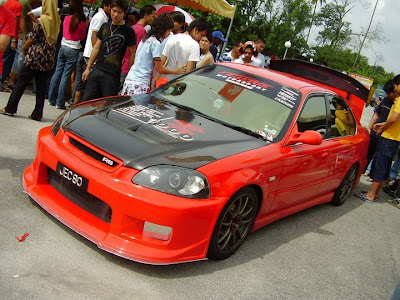 Modified Honda Civic EK