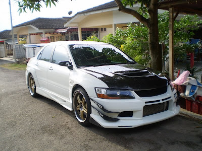 lancer evolution Voltex body kit