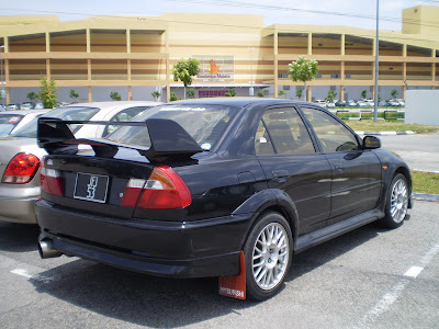 Lancer convert Evolution 6 body kit