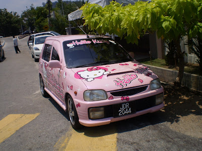Kancil Hello Kitty