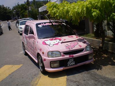 Kancil Hello Kitty