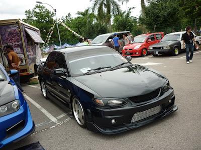 Wira Sedan wide body