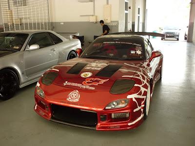 Mazda RX7 Kazama Autoworks