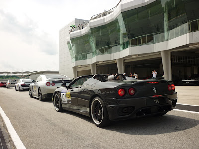Time To Attack Sepang Ferrari F360 Spider