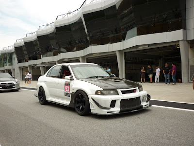 Time To Attack Sepang Modified widebody Evo VI