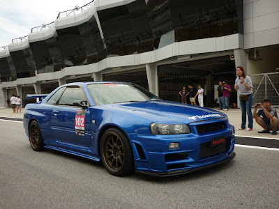 Time To Attack Sepang Modified Nissan Skyline GTR R34 Z-Tune bodykit
