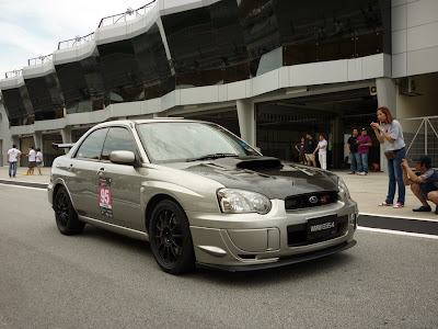 Time To Attack Sepang Subaru Impreza Ver 8