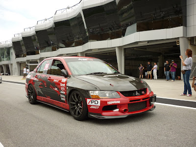 Time To Attack Sepang Modified Evo IX.