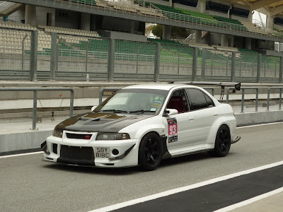 Time To Attack Sepang Modified widebody Lancer Evolution VI