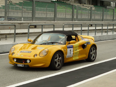 Time To Attack Sepang Lotus Elise
