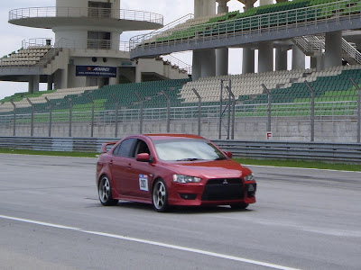 Time To Attack Sepang Mitsubishi Lancer EX, the power of MIVEC