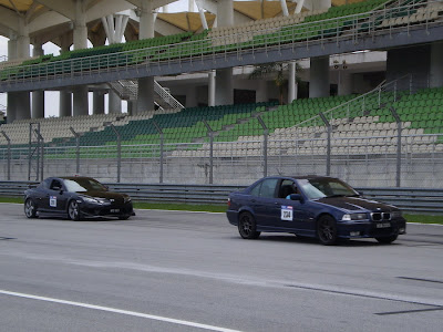 Time To Attack Sepang Mazda RX-8 VS BMW E36