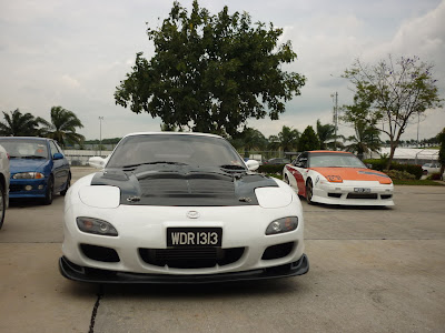 Time To Attack Sepang Mazda RX7 FD3S and the Nissan 180SX
