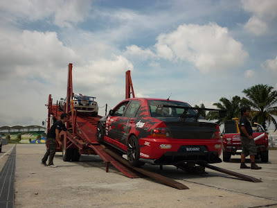 Time To Attack Sepang lotus & mitsubishi evo