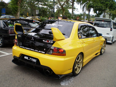 Evo Voltex body kit