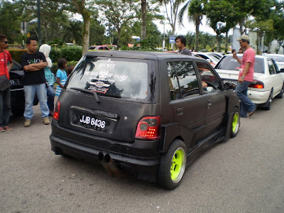 Matte Black Kancil Wide Body