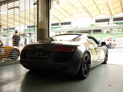 Audi R8 in Sepang