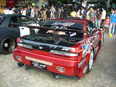 Silvia S13 wide body kit