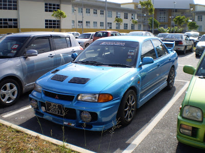 Wira Evo 3 body kit