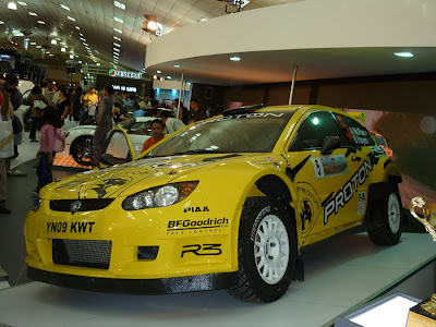 Satria Neo Super 2000 rally car