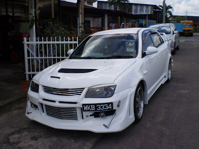 Proton Waja Body Kit