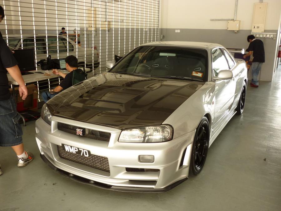 Skyline GTR R34 Z Tune