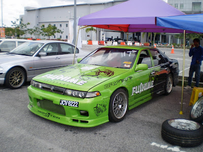 Nissan Cefiro drift car from Team Fushime