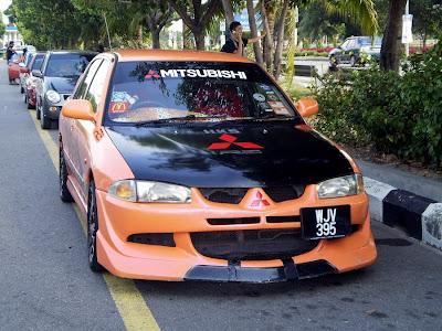 Proton Wira Evo 8 front bumper