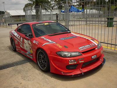 Nissan Silvia S15 Time Attack Machine