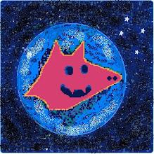 lobo rojo nocturno
