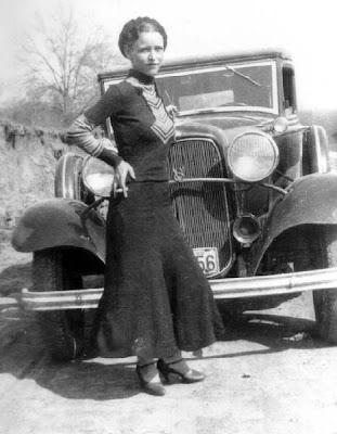 Name: Bonnie Elizabeth Parker Born: October 1, 1910, Rowena, Texas