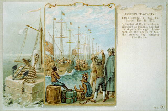 the boycott of british tea an american protest The boycott of british tea an american protest why did the colonists boycott tea but put many american tea vendors out of business why did the colonists boycott paper and tea.