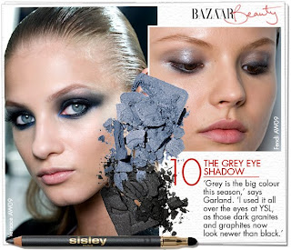 Beauty And Elegance Sultry Smokey Grey Eyes