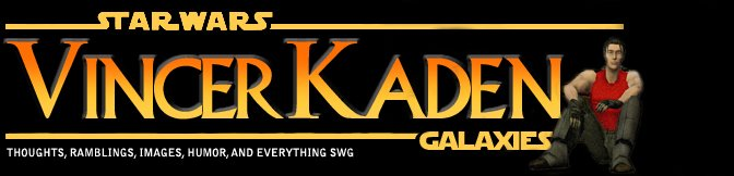 Star Wars Galaxies: Vincer Kaden