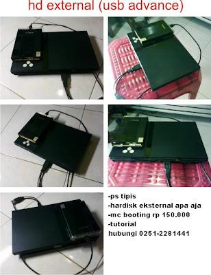 memorycard booting PS2 hardisk eksternal