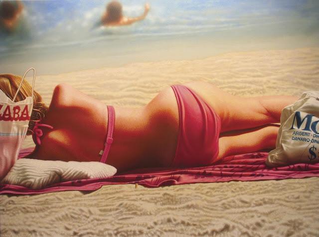 Photo-realist Painter