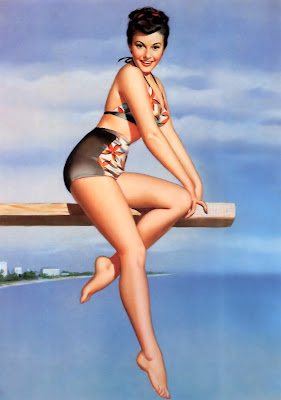 Pearl Frush Pin Up