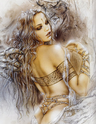 Luis Royo erotic arts