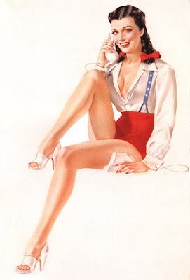 Alberto Vargas pin up