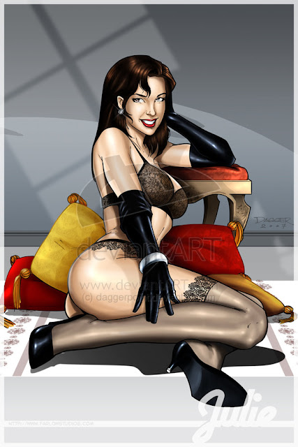 modern pin ups