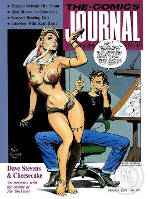 Dave Stevens comic