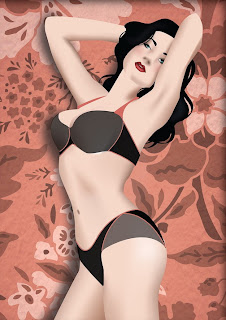 Erica Lundquist vector pin up